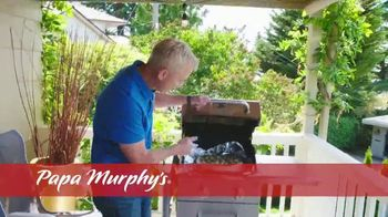 Papa Murphy's Pizza TV Spot, 'Cooked Right on Your Barbeque' - Thumbnail 2