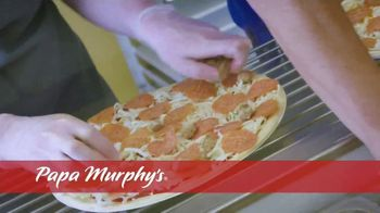Papa Murphy's Pizza TV Spot, 'Cooked Right on Your Barbeque' - Thumbnail 3