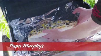 Papa Murphy's Pizza TV Spot, 'Cooked Right on Your Barbeque' - Thumbnail 6