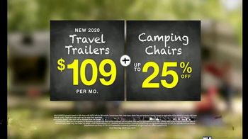 Camping World Back to Camping Sales Event TV Spot, 'Don't Hit the Books Yet: Travel Trailers and Chairs' - Thumbnail 6