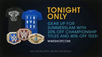 WWE Shop TV Spot, 'Come One, Come All: Summer Slam Savings' Song by SATV Music - Thumbnail 8
