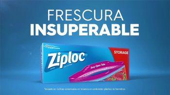 Ziploc Storage TV Spot, 'Fresas frescas' [Spanish] - Thumbnail 8