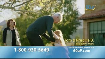 60uP Balance Building System TV Spot, 'Get Your Independence Back' Featuring Bob Eubanks - Thumbnail 4