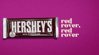 Hershey's Milk Chocolate Bar & Reese's Pieces Candy TV Spot, 'Red Rover' - 15212 commercial airings