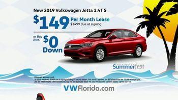 Volkswagen SummerFest TV Spot, 'Festival of Savings: 2019 Arteon & Jetta' [T2]