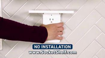 Socket Shelf TV Spot, 'Add a Shelf to Any Outlet' - Thumbnail 6