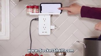 Socket Shelf TV Spot, 'Add a Shelf to Any Outlet' - Thumbnail 7