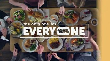 Golden Corral Endless Sirloin + Golden Delicious Shrimp TV Spot, 'Every Night' - Thumbnail 6
