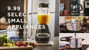 Macy's One Day Sale TV Spot, 'Deals of the Day: Jewelry, Small Appliances and Pillows' - Thumbnail 4