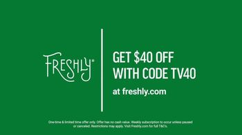 Freshly TV Spot, 'Complete Meal Delivered Weekly: $40 Off' - Thumbnail 9