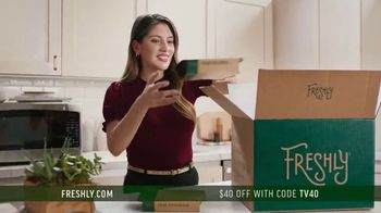 Freshly TV Spot, 'Complete Meal Delivered Weekly: $40 Off' - Thumbnail 4