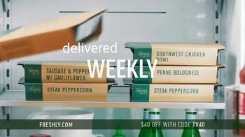 Freshly TV Spot, 'Complete Meal Delivered Weekly: $40 Off' - Thumbnail 5