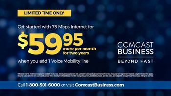 Comcast Business TV Spot, 'Deadlines: $59.95' - Thumbnail 9
