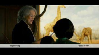 GreatCall TV Spot, 'Dinosaur Museum: Free Month' Featuring John Walsh - Thumbnail 6
