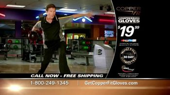 Copper Fit Compression Gloves TV Spot, 'Feel Better'