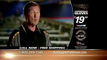 Copper Fit Compression Gloves TV Spot, 'Feel Better' - Thumbnail 2