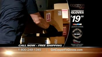 Copper Fit Compression Gloves TV Spot, 'Feel Better' - Thumbnail 5