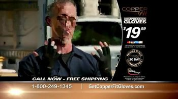 Copper Fit Compression Gloves TV Spot, 'Feel Better' - Thumbnail 6