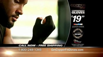 Copper Fit Compression Gloves TV Spot, 'Feel Better' - Thumbnail 7