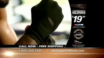 Copper Fit Compression Gloves TV Spot, 'Feel Better' - Thumbnail 8