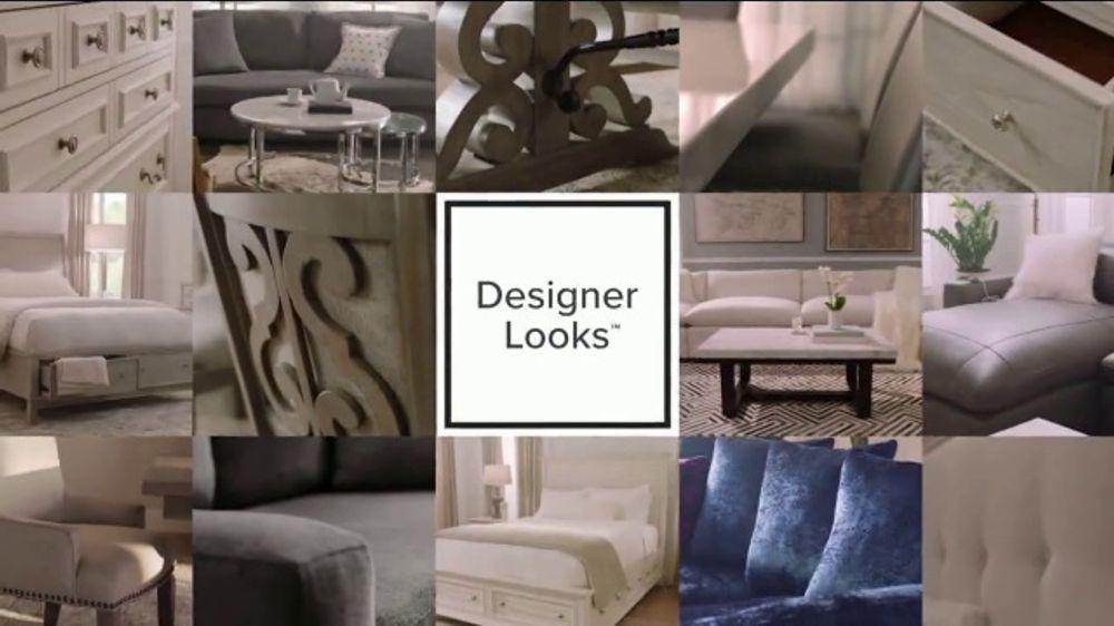 Value City Furniture TV Commercial, 'Designer Looks Without Designer Prices'
