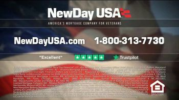 NewDay USA VA Cash Out Home Loan TV Spot, 'Spouse of a Military Veteran' Featuring Tom Lynch - Thumbnail 5