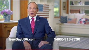 NewDay USA VA Cash Out Home Loan TV Spot, 'Spouse of a Military Veteran' Featuring Tom Lynch - Thumbnail 2