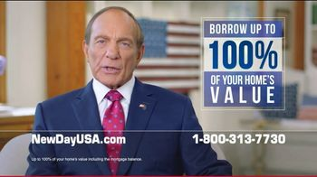 NewDay USA VA Cash Out Home Loan TV Spot, 'Spouse of a Military Veteran' Featuring Tom Lynch - Thumbnail 3