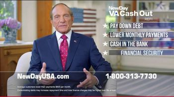 NewDay USA VA Cash Out Home Loan TV Spot, 'Spouse of a Military Veteran' Featuring Tom Lynch - Thumbnail 4