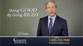Chaffin Luhana TV Spot, '60 Minutes or Less' - Thumbnail 10