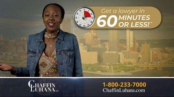 Chaffin Luhana TV Spot, '60 Minutes or Less' - Thumbnail 4