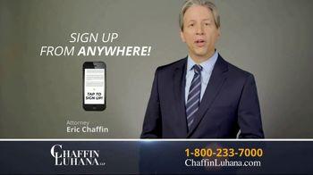 Chaffin Luhana TV Spot, '60 Minutes or Less' - Thumbnail 5