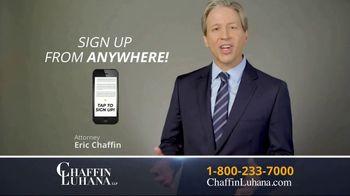 Chaffin Luhana TV Spot, '60 Minutes or Less' - Thumbnail 6