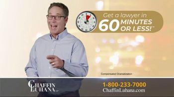 Chaffin Luhana TV Spot, '60 Minutes or Less' - Thumbnail 8