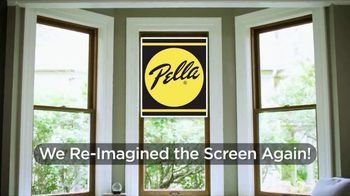 Pella Integrated Roll Screen TV Spot, 'Re-Imagined the Screen Again: 50 Percent Off Installation' - Thumbnail 2