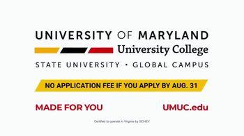 University of Maryland University College TV Spot, 'Hustle: No Application Fee' - Thumbnail 9