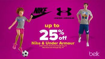 Belk Days TV Spot, 'Doorbusters: Nike, Under Armour, Sneakers and Backpacks' - Thumbnail 4