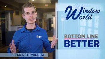 Window World TV Spot, 'Bottom Line Better' - Thumbnail 4
