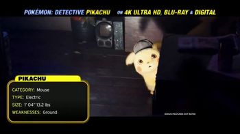 Pokémon Detective Pikachu Home Entertainment TV Spot - Thumbnail 3