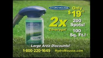 Hydro Mousse Liquid Lawn Seeder TV Spot, 'Twice the Coverage' - Thumbnail 10