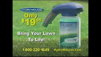 Hydro Mousse Liquid Lawn Seeder TV Spot, 'Twice the Coverage' - Thumbnail 9