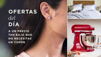 Macy's La Venta de Un Día TV Spot, 'Ofertas del día: joyería, electrodomésticos y almohadas' [Spanish] - Thumbnail 1