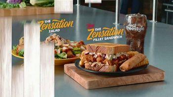 Zaxby's Zensation TV Spot, 'Introducing the New Zensation Fillet Sandwich' - Thumbnail 10