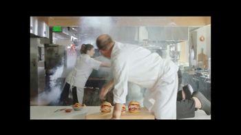 Arby's Bourbon BBQ Sandwiches TV Spot, 'Fire Alarm' - Thumbnail 2