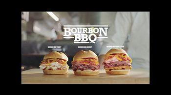 Arby's Bourbon BBQ Sandwiches TV Spot, 'Fire Alarm' - Thumbnail 5