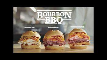 Arby's Bourbon BBQ Sandwiches TV Spot, 'Fire Alarm' - Thumbnail 6