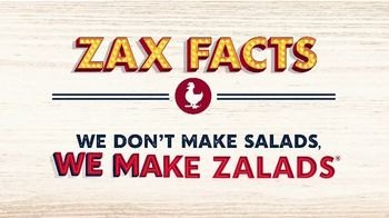 Zaxby's Zalads TV Spot, 'Zax Facts: We Don't Make Salads' - Thumbnail 3