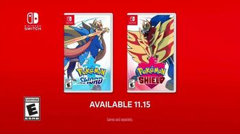 Pokémon Sword and Pokémon Shield TV Spot, 'Never Before Seen Pokemon' - Thumbnail 10