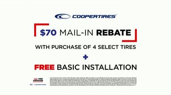 Tire Kingdom TV Spot, 'Save $70 After Mail-In Rebate + Free Installation' - Thumbnail 7
