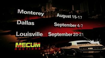 Mecum Auctions TV Spot, \'Live and In Person\'